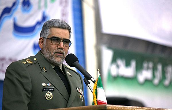 Commander of the Iranian Army's Ground Forces Brigadier General Ahmad-Reza Pourdastan