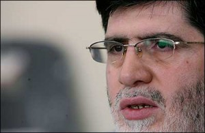 Ali Akbar Javanfekr, Iranian president's press advisor and director of the Islamic Republic News Agency (IRNA)