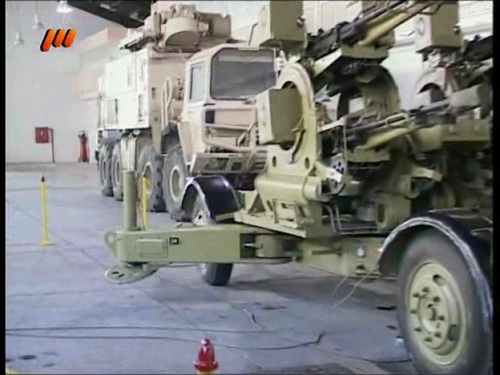 Presence of French Roland AD system in Mesbah production line ceremony