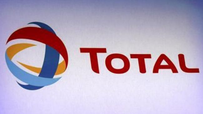 The logo of France's Total