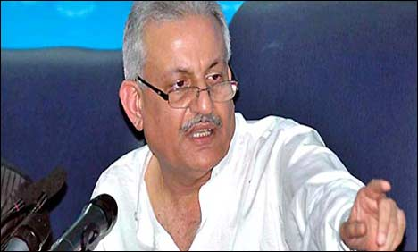 Pakistan People's Party leader Raza Rabbani