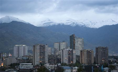 File photo of housing complexes in northwestern Tehran