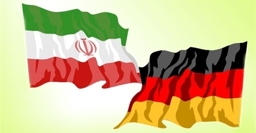 Iran germany flags2