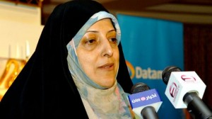 Head of Department of Environment (DoE) Masomeh Ebtekar