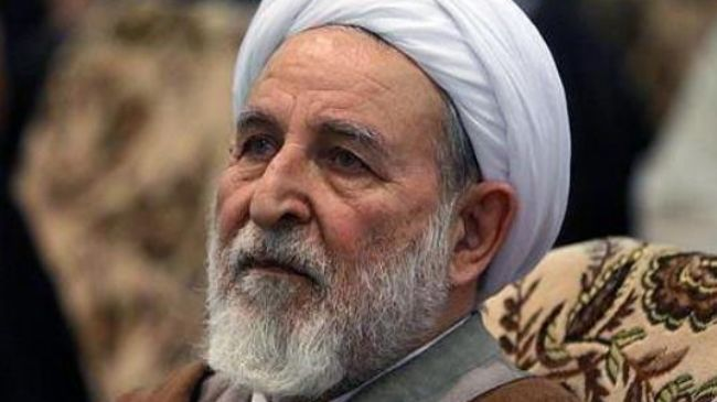 Iran's Deputy Chairman of the Assembly of Experts Ayatollah Mohammad Yazdi