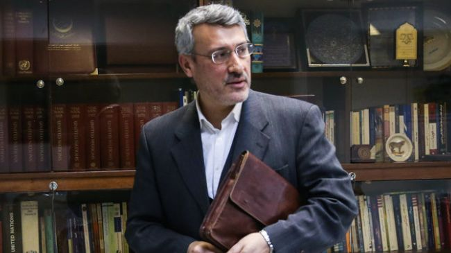 Hamid Baeidinejad (pic) heads Iran's expert-level nuclear negotiating team.