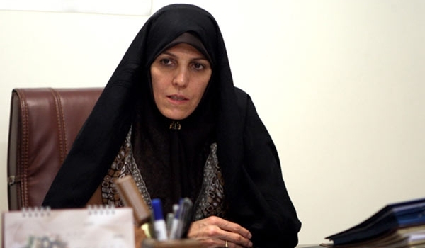 Iran's Vice-President for Women and Family Affairs Shahindokht Molaverdi