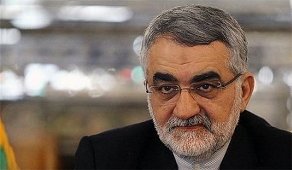 Chairman of National Security and Foreign Policy Committee of Iran's Parliament (Majlis) Alaeddin Boroujerdi