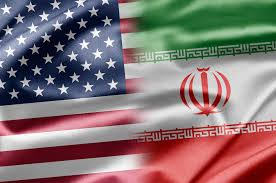 Flags of US & Iran