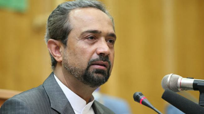 Iranian President Hassan Rouhani's Chief of Staff Mohammad Nahavandian