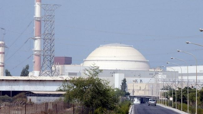 A view of Iran's Bushehr nuclear power plant (file photo)
