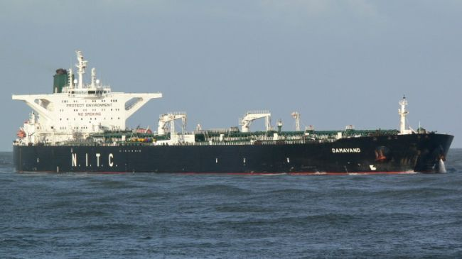 An Iranian oil tanker (file photo)