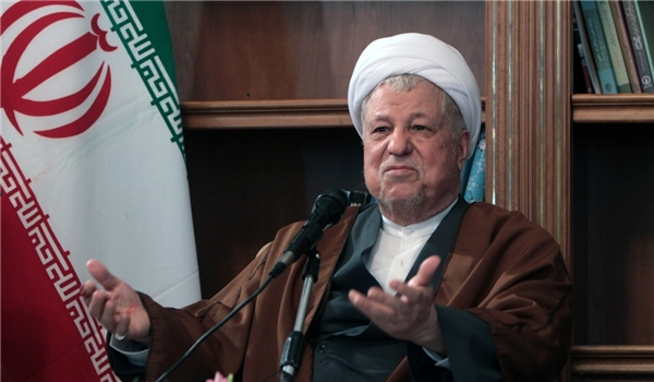 Head of Iran's Expediency Council Ayatollah Hashemi Rafsanjani