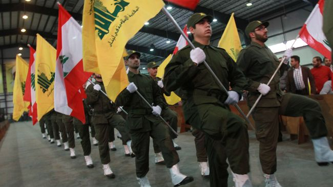 Hezbollah resistance fighters