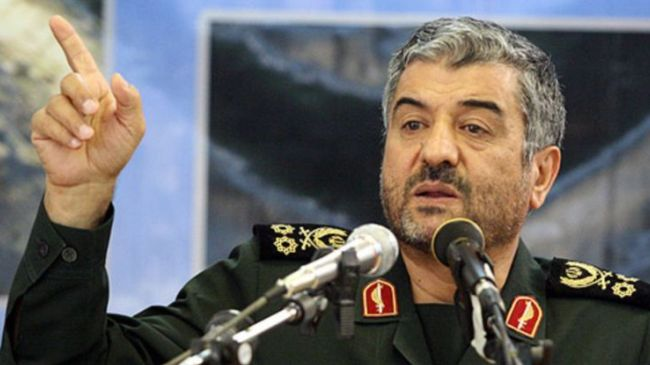 Commander of Iran's Islamic Revolution Guards Corps (IRGC) Major General Mohammad Ali Jafari