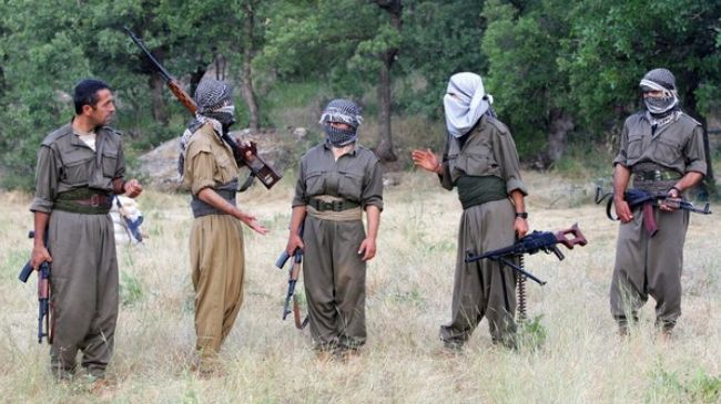 Members of the Kurdistan Workers' Party (file photo)