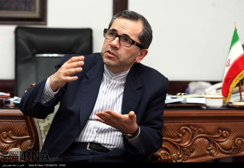 Iran's Deputy Foreign Minister for American and European Affairs Majid Takht Ravanchi