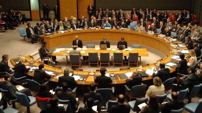 A meeting of the UN Security Council (file photo)