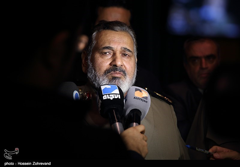 Iranian Armed Forces' Chief of Staff Major General Hassan Firouzabadi.
