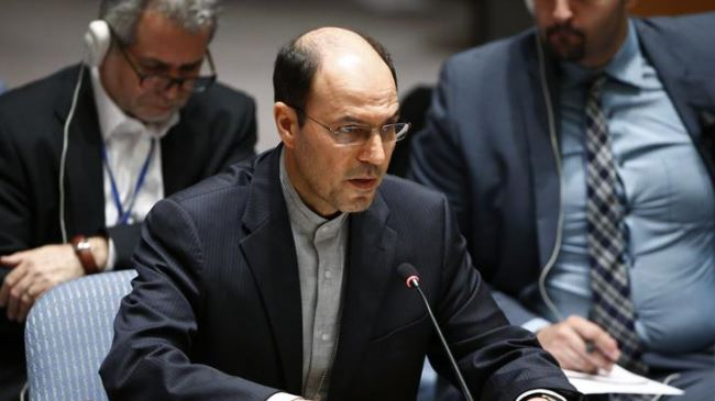 Iranian Acting Ambassador to the UN Gholam-Hossein Dehqani