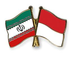 Flags of Iran & Indonesia