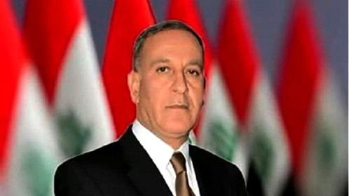 Iraqi Defense Minister Brigadier General Khaled al-Obeidi