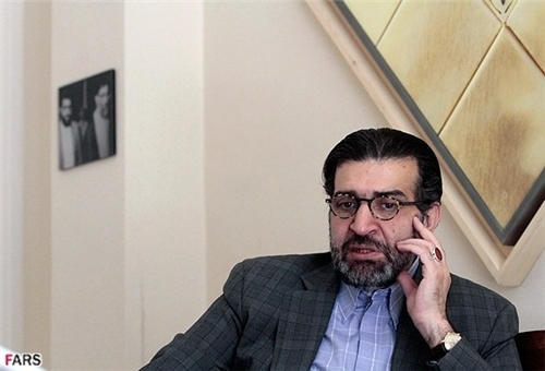 Member of the newly-formed NEDA [Farsi initials for a Second Generation of Reformism] Party Sadegh Kharrazi