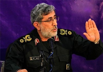 Lieutenant commander of the Islamic Revolution Guard Corps (IRGC) Quds Force Brigadier General Esmail Qa'ani
