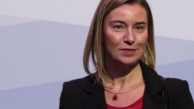 European Union High Representative for Foreign Affairs and Security Policy Federica Mogherini