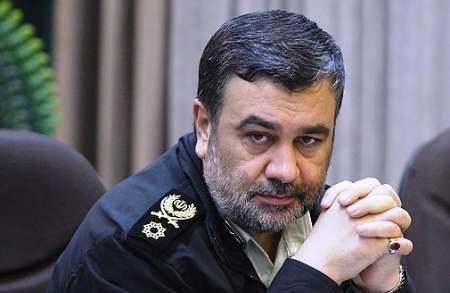 Iran's new police chief Brigadier General Hossein Ashtari