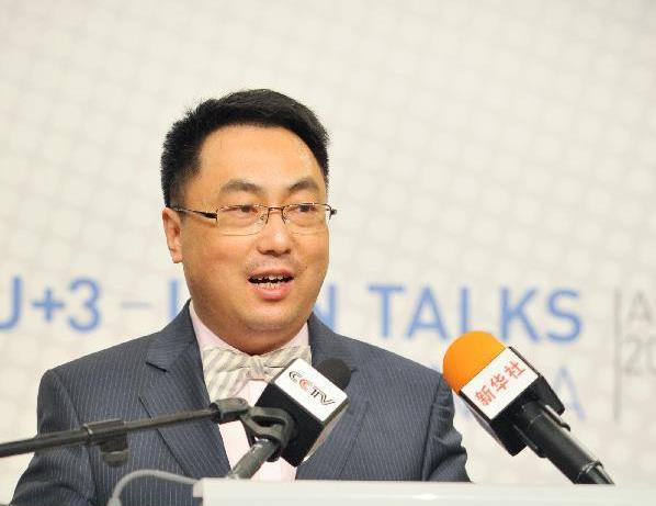 Director-General of the Department of Arms Control of Chinese Ministry of Foreign Affairs, Wang Qun
