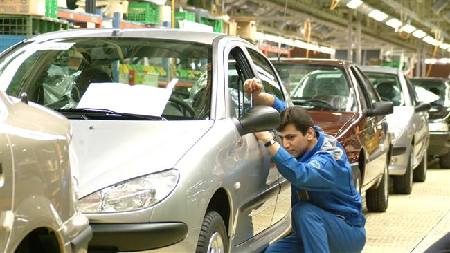 Iran says production in its auto sector has been the highest among other sectors.
