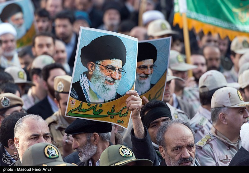 Iranians rally to mark anniversary of 'Dey 9 epic'