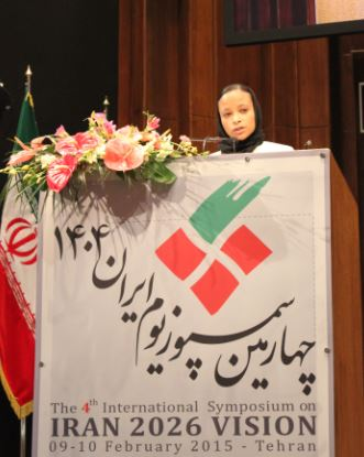 Director of Office and Representative to I.R. Iran, Ms Esther Kuisch Laroche.