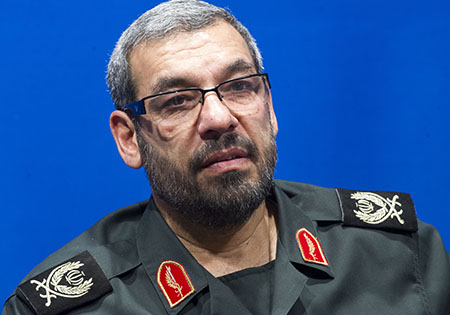 Acting commander of the IRGC Ground Force Operations Division General Morteza Mirian