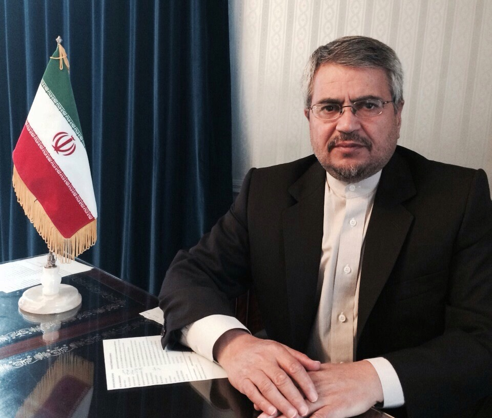 Iran's new Ambassador to the United Nations in New York Gholam Ali Khoshrou