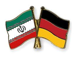 Flags of Iran & Germany