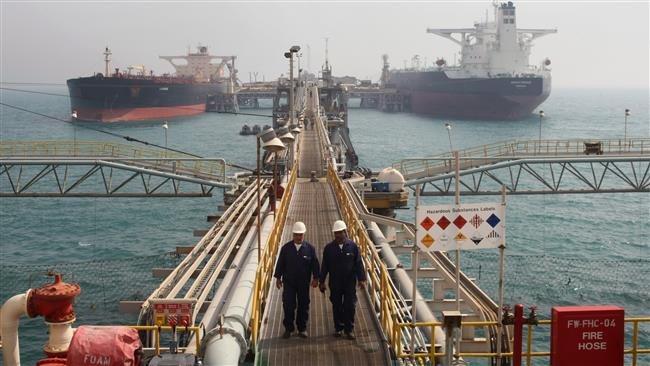 Iran earned more than $2.3 billion from sales of oil products in the 10 months to January.