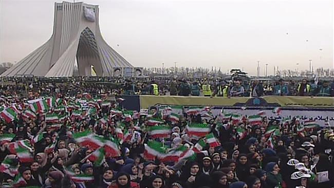 Iranians rally in Tehran to mark the victory of the 1979 Islamic Revolution, February 11, 2015. Iranians rally in Tehran to mark the victory of the 1979 Islamic Revolution, February 11, 2015.