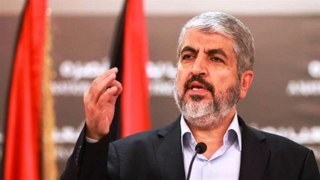 Hamas' political bureau chief Khaled Meshaal