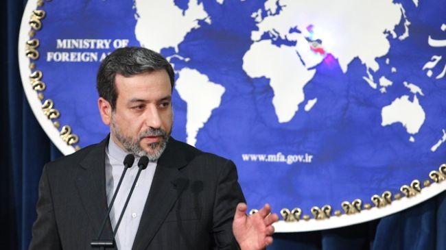 Iranian Deputy Foreign Minister for International and Legal Affairs Abbas Araqchi