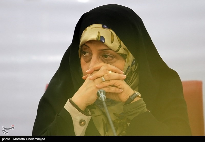 Vice-President and Head of Iran's Department of Environment, Dr. Masoumeh Ebtekar
