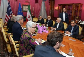 Iran, US begin fresh nuclear talks in Swiss city of Lausanne on Mar. 26, 2015.