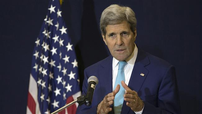 US Secretary of State John Kerry speaks at a news conference in Sharm el-Sheikh on March 14, 2015. (AFP photo)