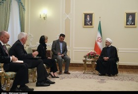 Rouhani & Julie Bishop
