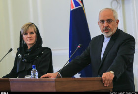 julie bishop zarif tehran