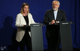 photos of joint press conference with EU foreign policy chief Federica Mogherini in Lausanne (2)