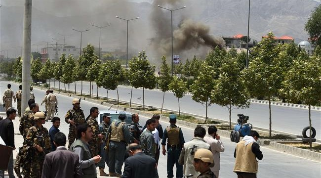 Attack on Afghan parliament building