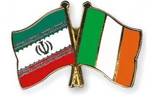Iran-Ireland flag