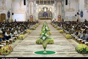 Collective Quran reciting program in holy city of Qom